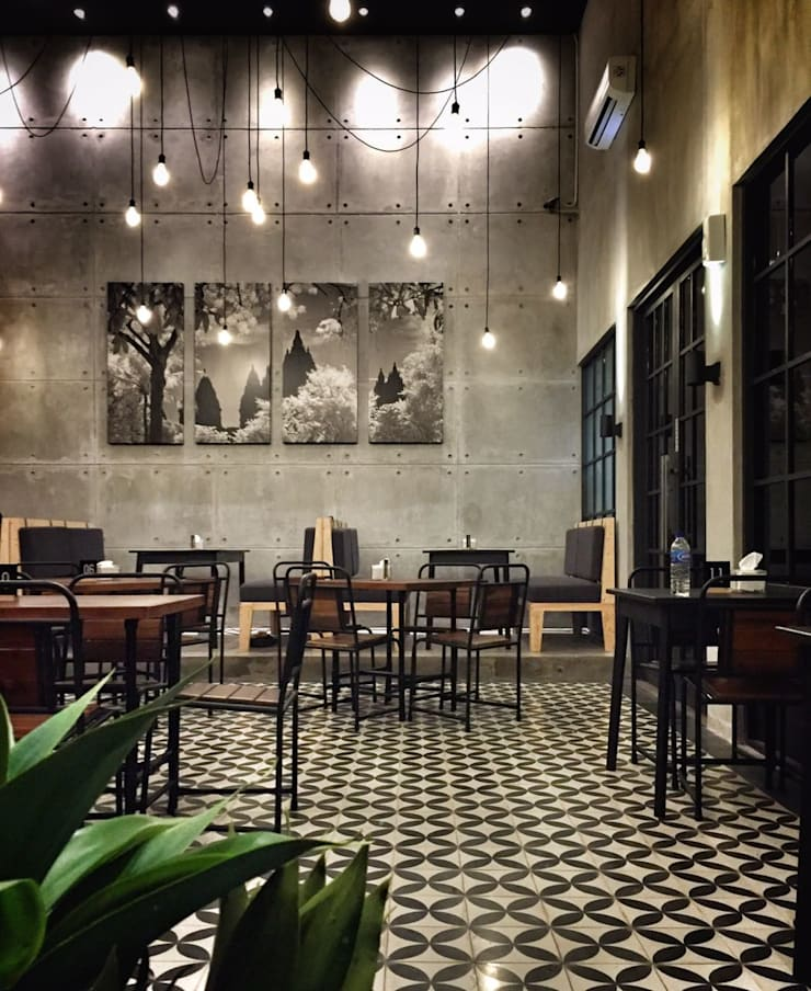 Grill On Resto Semarang:  Artwork by SPASIUM