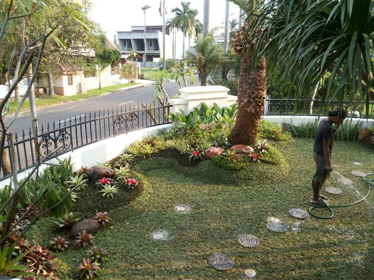 Tukang taman jember:  Hotels by NISCALA GARDEN | Tukang Taman Surabaya