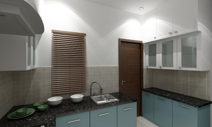 Yosuf Kitchen Interiors Work:   by Walls Asia Architects and Engineers
