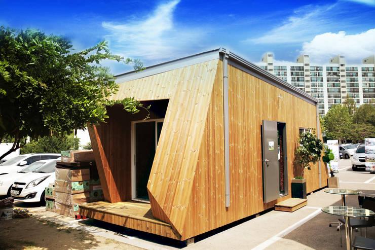 Casas de estilo  por 공간제작소(주)