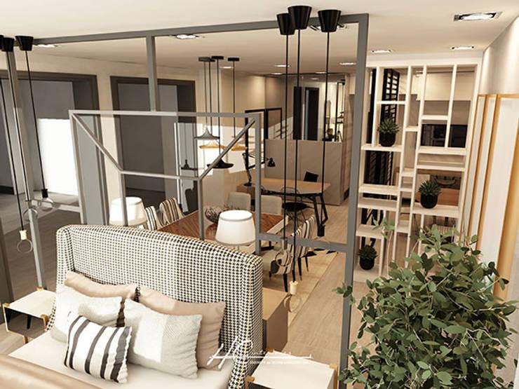 Habitaciones de estilo  por Grupo HC