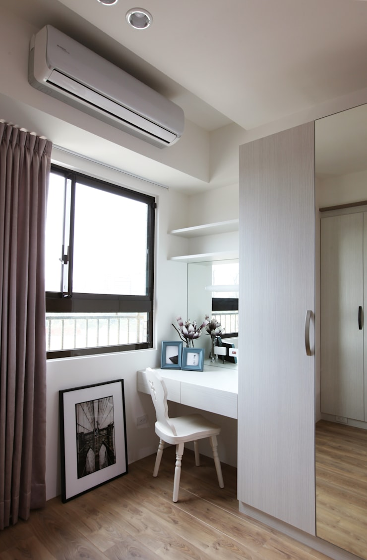 Bedroom by 築一國際室內裝修有限公司