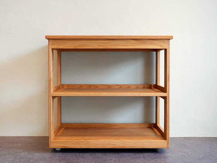 레드오크로 제작한 주방용웨건/이동식 콘솔 : 나무모아의  주방,