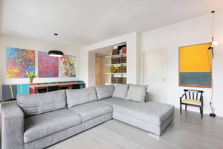 Phòng khách by Archifacturing