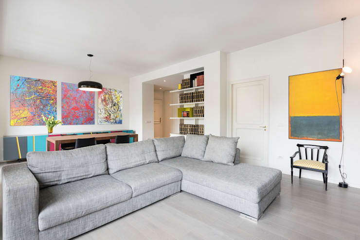 Livings de estilo  por Archifacturing