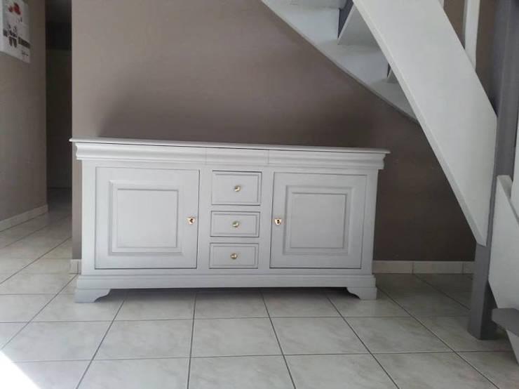 Relooking meubles merisier et escalier by Luka Deco Design | homify