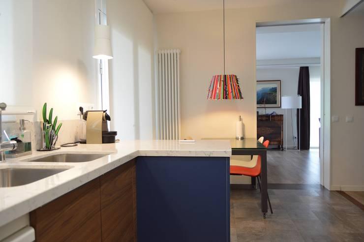 : modern Kitchen by Upper Design by Fernandez Architecture Firm