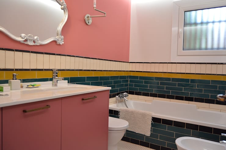 : modern Bathroom by Upper Design by Fernandez Architecture Firm