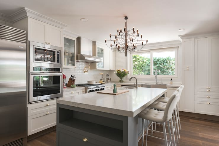 Departamento Polanco I: Cocinas de estilo  por MAAD arquitectura y diseño