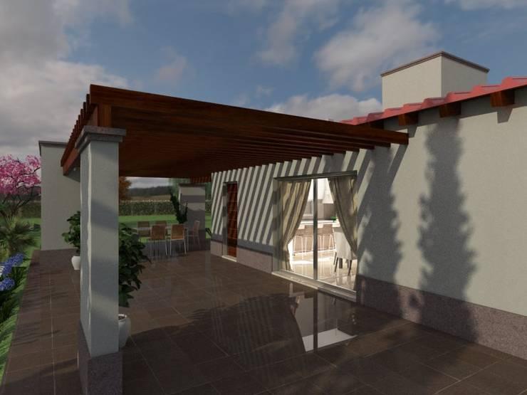 Galería : Casas de estilo  por Gastón Blanco Arquitecto