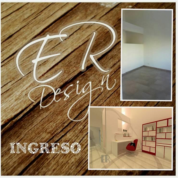 Duplex chacras del norte, Córdoba: Estudios y oficinas de estilo  por ER Design.    @eugeriveraERdesign,