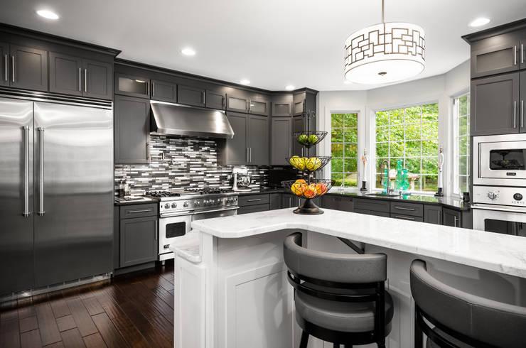 Viking Appliance Award Winning Kitchen:  Kitchen by Main Line Kitchen Design