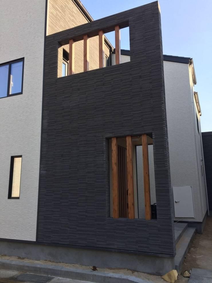 내진설계 구조와 레드파인 집성철물 공법으로 외부 마감재는 KMEW 와 이낙스타일 호소와리보더 모델을 사용하였습니다  : 창조하우징의