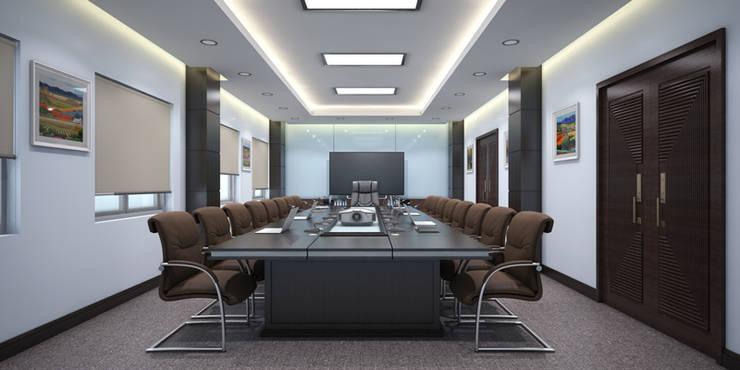 Thiết kế thi công nội thất văn phòng Lạc Hồng – Hưng Yên:  Artwork by Nội Thất TNC