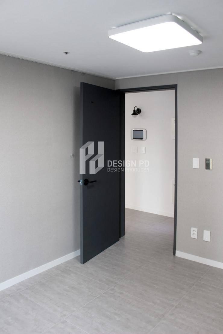 경남 아너스빌: 디자인 PD의  침실