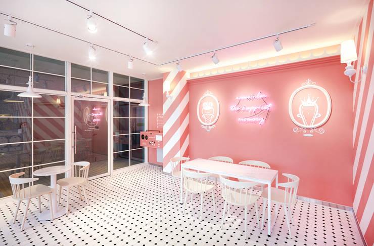 아츄 카페 – 김포 장기동 Cafe Interior: 원더러스트의  상업 공간