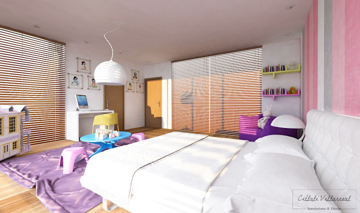 modern Nursery/kid's room by Citlali Villarreal Interiorismo & Diseño