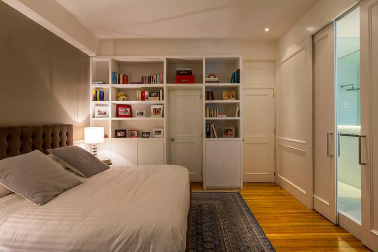 臥室 by Weber Arquitectos