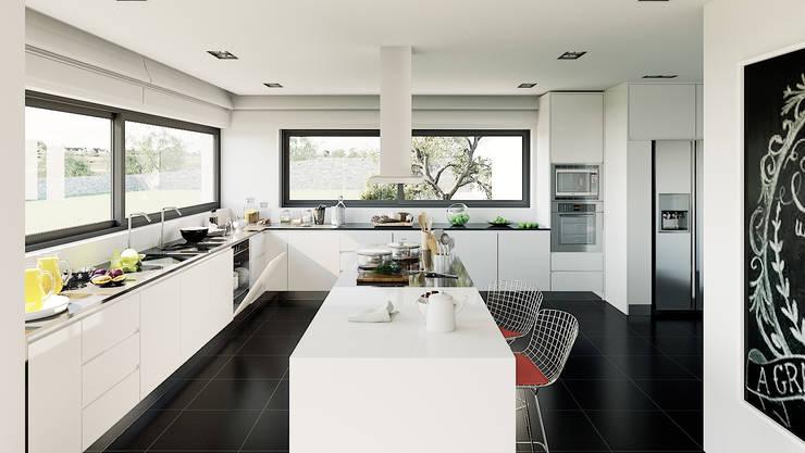 Cocinas de estilo moderno por MyWay design