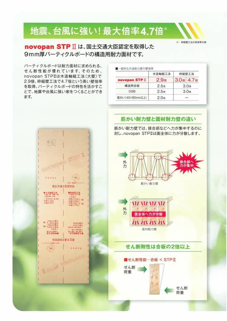 중목구조에 탁월한 구조용 일본 노보합판 -1  : 창조하우징의
