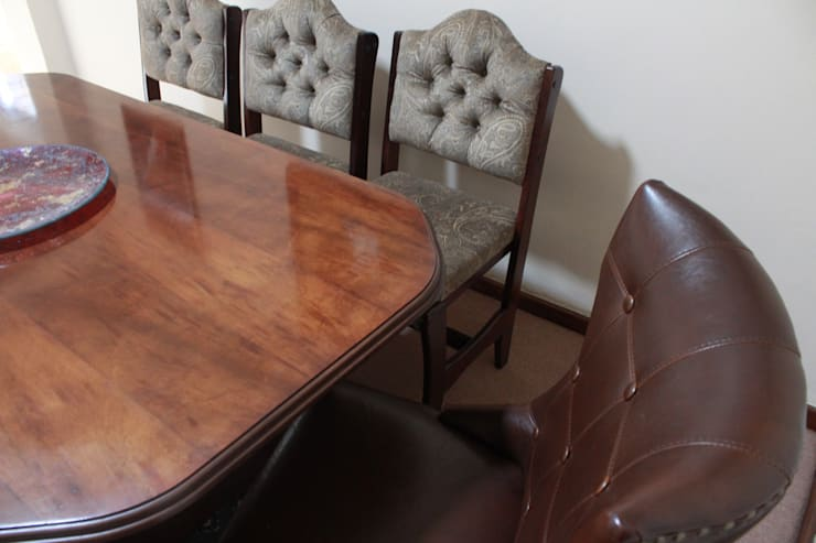 Dining room by Buhle Bendalo Designs
