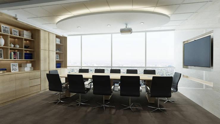 Meeting Room:  Kantor & toko by Juxta Interior