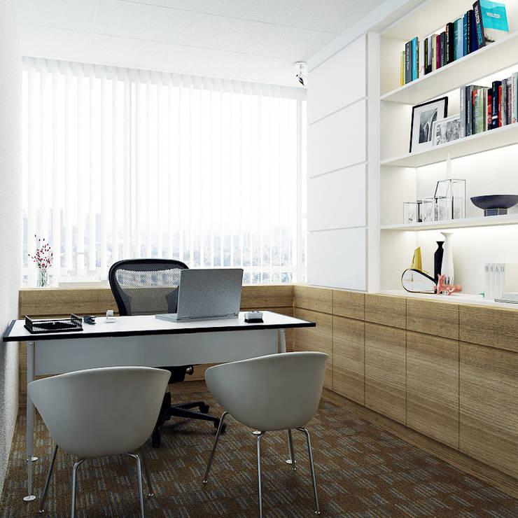 Manager Office:  Kantor & toko by Juxta Interior