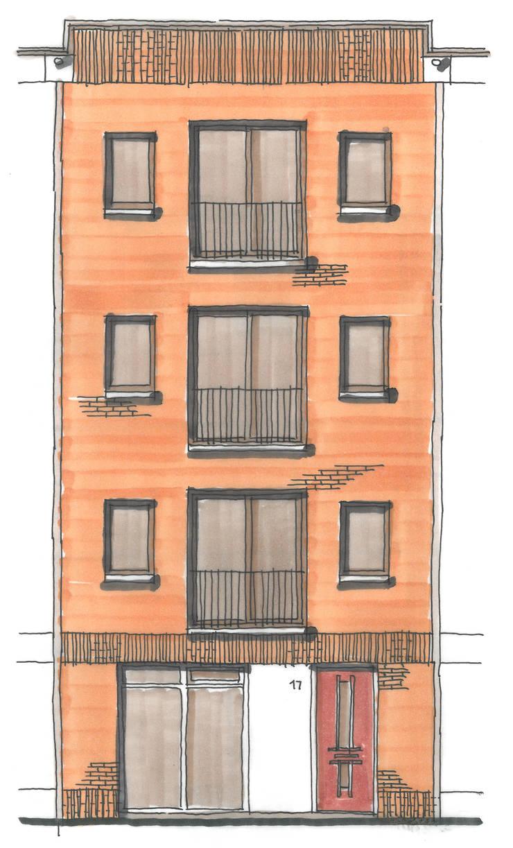 406galleryBK:  Huizen door JWG Architecten, Modern