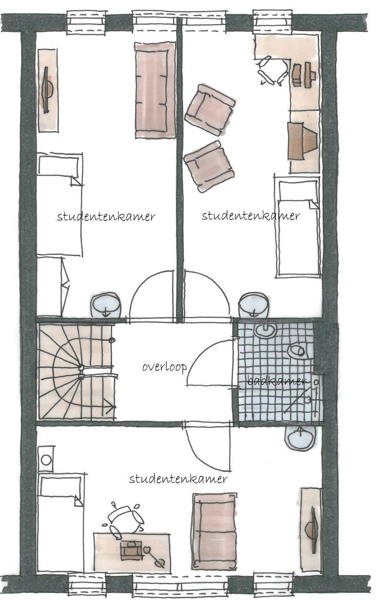 406galleryBK: modern  door JWG Architecten, Modern