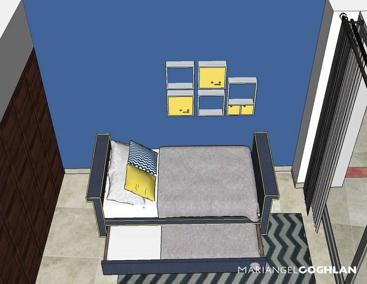Slaapkamer door MARIANGEL COGHLAN