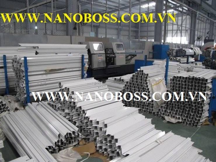 Dự án Nhôm Kính:   by Công ty Cổ Phần Tập đoàn Nano Boss