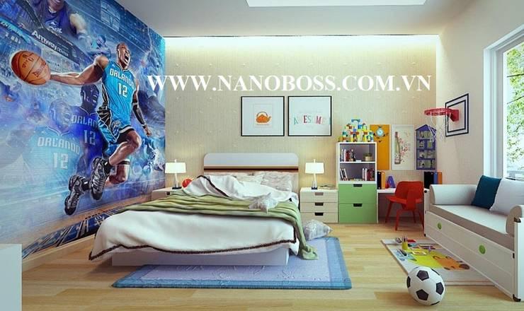 Nội Thất Căn Hộ Chung Cư:   by Công ty Cổ Phần Tập đoàn Nano Boss