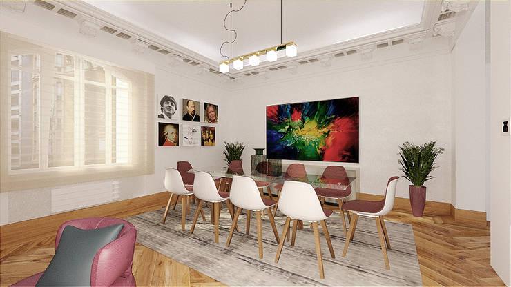 Comedor - Dinning Room: Comedores de estilo  de CADOT