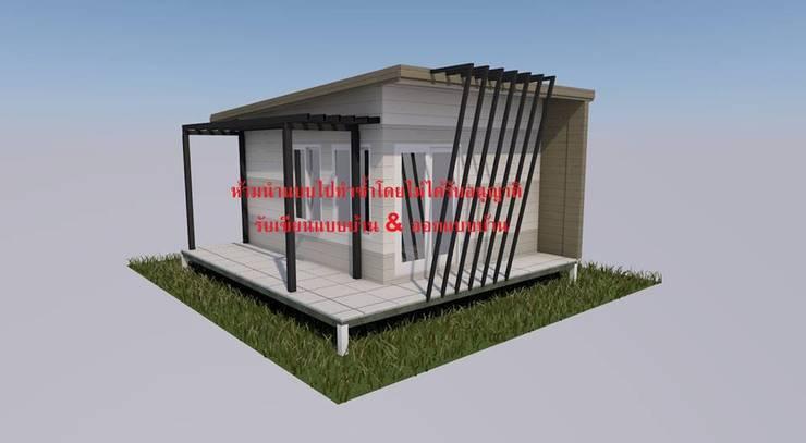 แบบบ้าน 1 ชั้น:  บ้านและที่อยู่อาศัย by รับเขียนแบบบ้าน&ออกแบบบ้าน