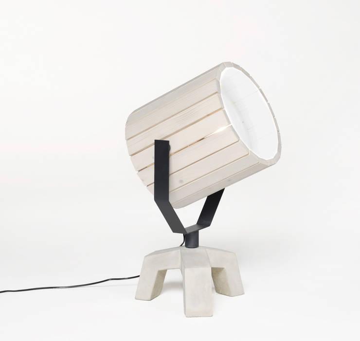Barrel Lamp:  Woonkamer door Nieuwe Heren