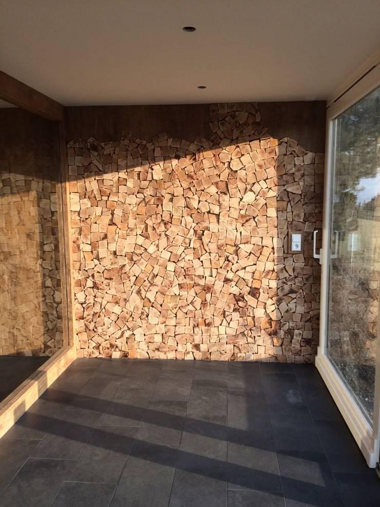 Exklusive Sauna: modernes Spa von Fa. RESANEO®