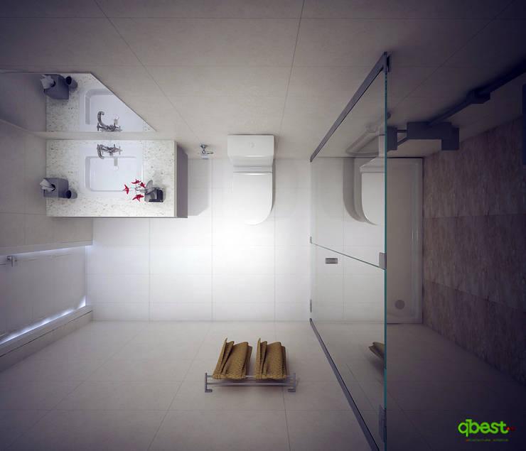 Nhà tắm:  Bedroom by Công ty TNHH Thiết Kế và Ứng Dụng QBEST