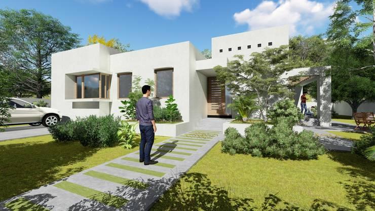 Casa Neira. Gorbea 2017: Casas de estilo  por AOG SPA