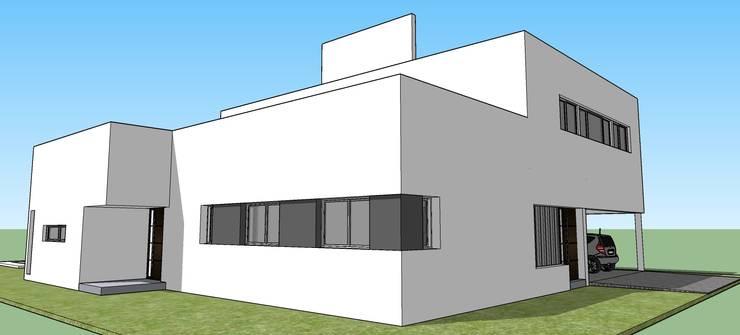 Proyecto Remodelacion y Ampliacion : Casas de estilo  por CAB Arquitectura ccab.arquitectura@gmail.com,