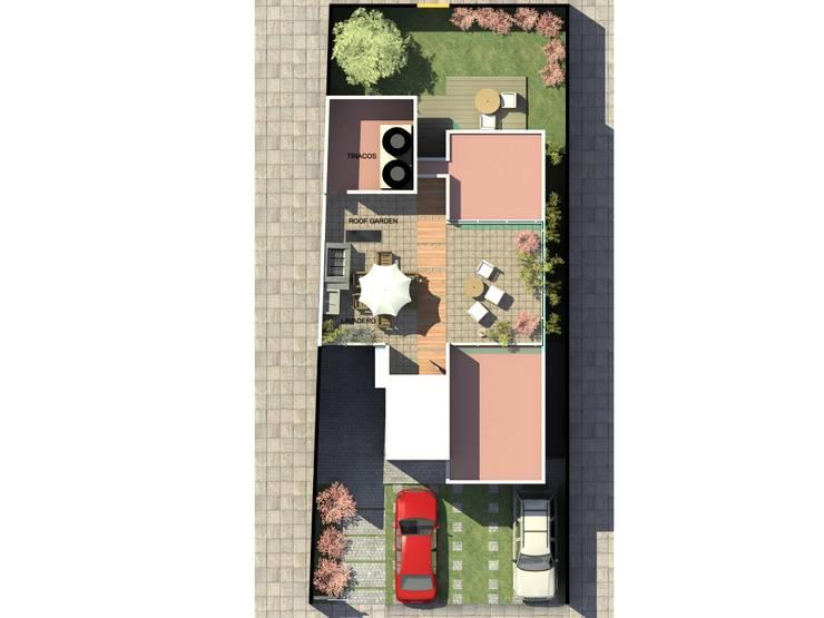 LOMAS DE JURIQUILLA 44: Casas de estilo moderno por Protocolo Ingeniería & Arquitectura