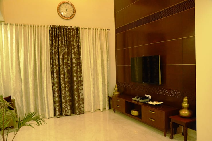 Living room: modern Living room by VB Design Studio