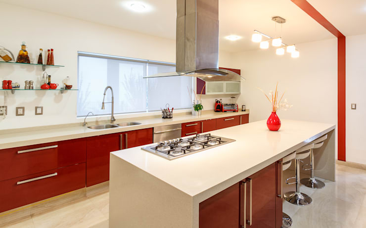 modern Kitchen by SANTIAGO PARDO ARQUITECTO
