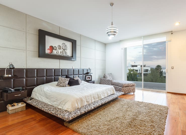 modern Bedroom by SANTIAGO PARDO ARQUITECTO