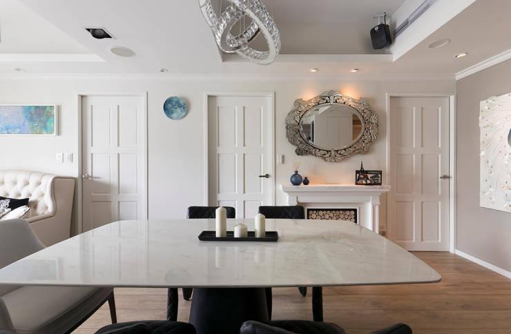 Dining room by 耀昀創意設計有限公司/Alfonso Ideas, Classic