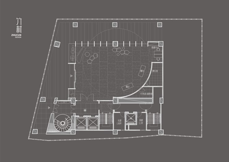 Aqua Hostel | 舊建築改造:  飯店 by 竹村空間 Zhucun Design