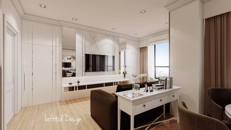The crest condo:   by LOFTTID DESIGN