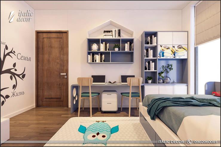 CĂN HỘ TRÀNG AN COMPLEX:  Phòng trẻ em by ITALIC DECOR