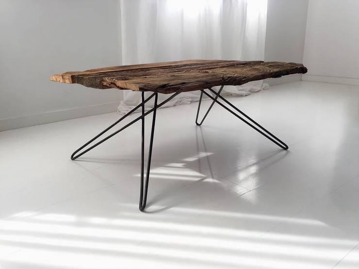 Stoliki kawowe: styl , w kategorii Salon zaprojektowany przez Wichaister