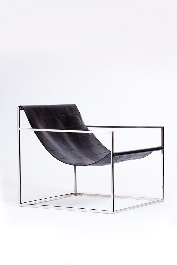 Sling chair:  Living room by Egg Designs CC