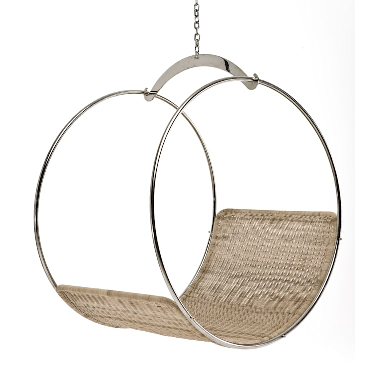 Wicker swing chair:  Living room by Egg Designs CC